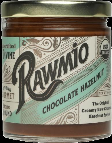 Rawmio Creamy Raw Chocolate Hazelnut Spread Perspective: front