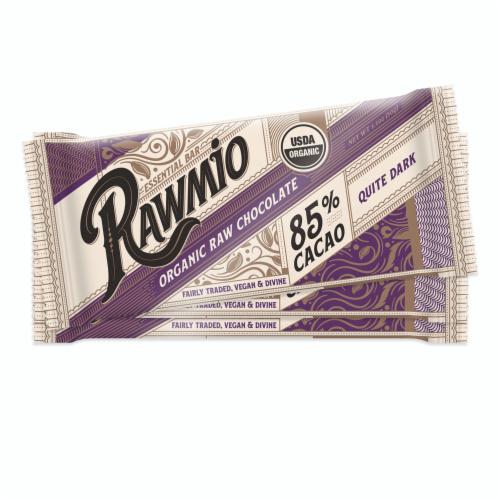 Rawmio Essentials Bar 85% Cacao Dark Chocolate Perspective: front
