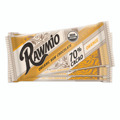 Deroma Spa Essentials Dark Chocolate Orange Bars Perspective: front