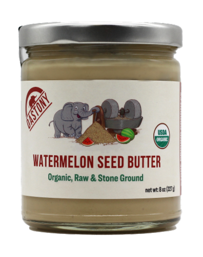 Dastony Organic Watermelon Seed Butter Perspective: front