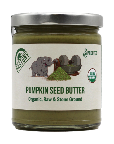 Dastony Organic Pumpkin Seed Butter Perspective: front