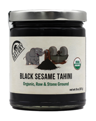 Dastony Organic Black Sesame Tahini Perspective: front