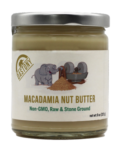 Dastony Organic Macadamia Nut Butter Perspective: front