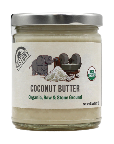 Dastony Organic Coconut Butter Perspective: front