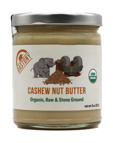 Dastony Organic Cashew Nut Butter Perspective: front