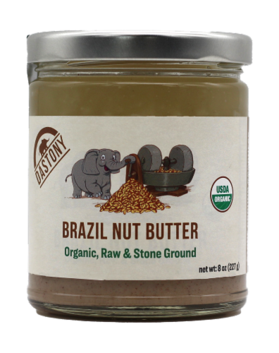 Dastony Organic Brazil Nut Butter Perspective: front