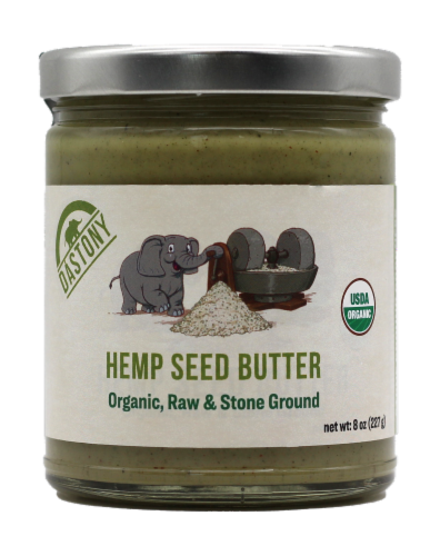 Dastony Organic Hemp Seed Butter Perspective: front