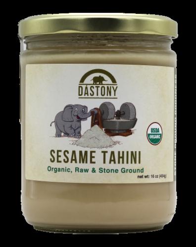 Dastony Organic Sesame Tahini Perspective: front