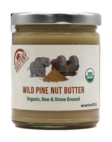 Dastony Organic Wild Pine Nut Butter Perspective: front