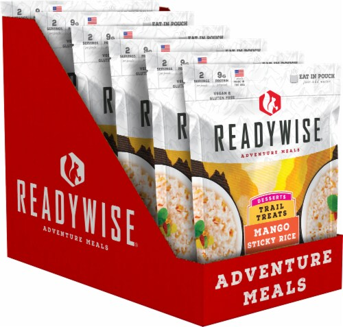 ReadyWise® Desserts Mango Sticky Rice Trail Treat Perspective: front