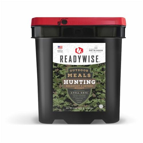 ReadyWise Oitdoor Meals Hunting Bucket Perspective: front