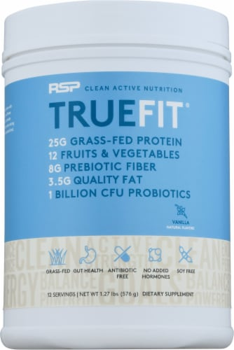 RSPNutrition Truefit Vanilla Dietary Supplement Perspective: front
