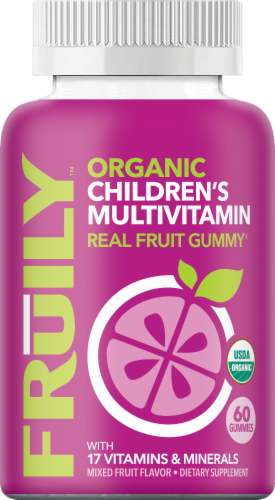Fruily Multivitamin: Children's Perspective: front