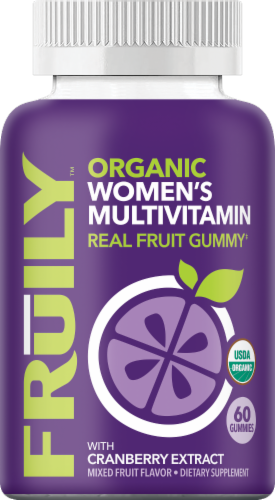 Fruily Women's Multivitamin Perspective: front