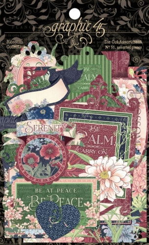 Blossom Cardstock Die-Cut Assortment- Perspective: front