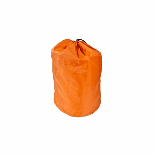 Simple Living Solutions Orange Inflatable Storage Bag Perspective: front