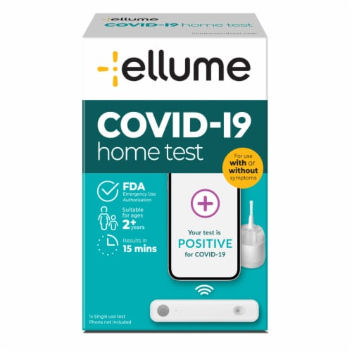 Ellume Covid-19 Home Test Perspective: front