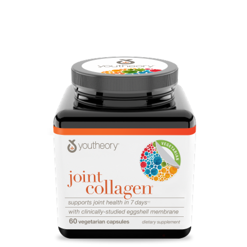 Youtheory® Joint Collagen® Vegetarian Capsules Perspective: front