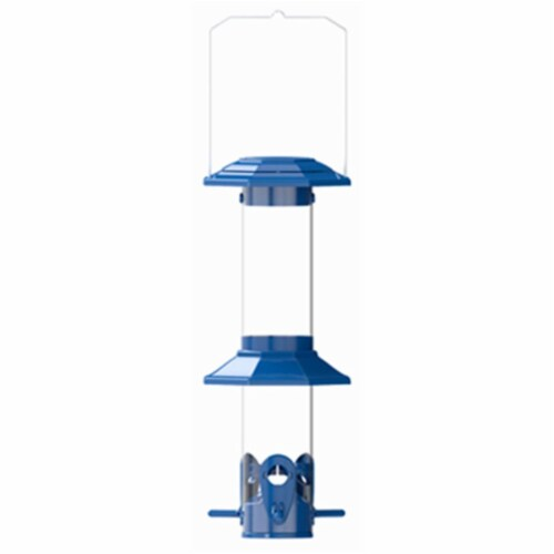 Natures Way Bird Products Squirrel Proof Funnel Flip Top Bird Feeder Perspective: front