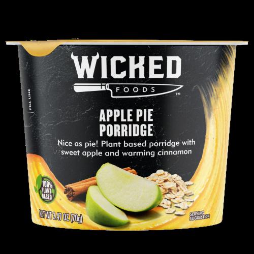 Wicked Foods Apple Pie Porridge Perspective: front