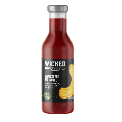 Wicked Foods Asian Style BBQ Sauce Perspective: front
