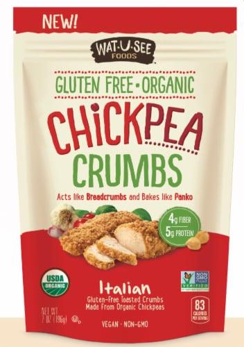 Watusee Organic Italian Chickpea Crumbs Perspective: front