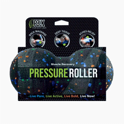PBLX Small Pressure Foam Roller Perspective: front