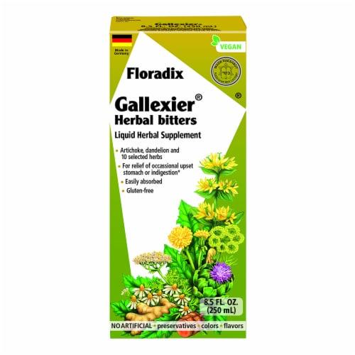Floradix Gallexier Herbal Bitters Liquid Supplement Perspective: front