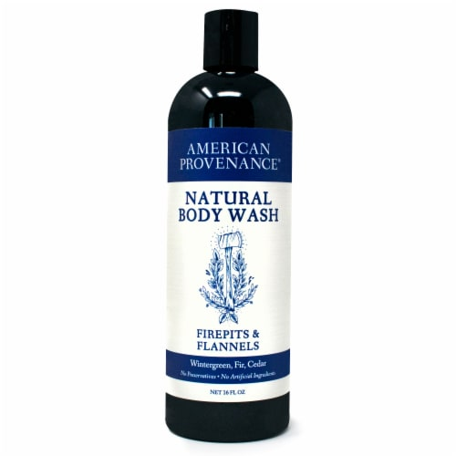 Natural Body Wash Firepits & Flannels 16 fl oz Perspective: front