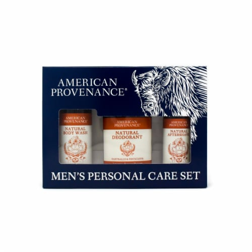 Natural Men's Gift Set; Aftershave - Fastballs & Fisticuffs Perspective: front