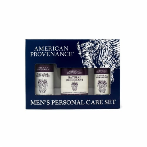 Natural Men's Gift Set; Aftershave - Horseshoes & Hand Grenades Perspective: front