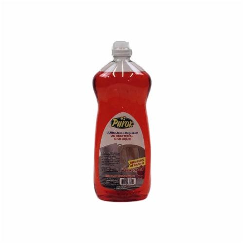 PUROX 26oz Pomegranate Dish Soap Perspective: front