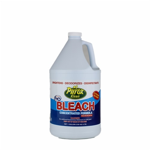 PUROX BLEACH CLEANS-WHITENS EXTRA STRENGHT 64oz/8ct Perspective: front