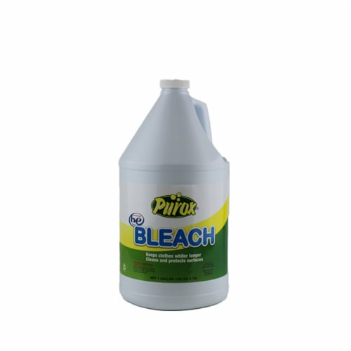 PUROX BLEACH CLEANS-WHITENS REGULAR STRENGHT 64oz/8ct Perspective: front