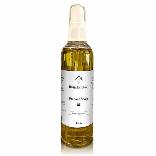 Hair & Scalp Oil- 4 Oz Perspective: front