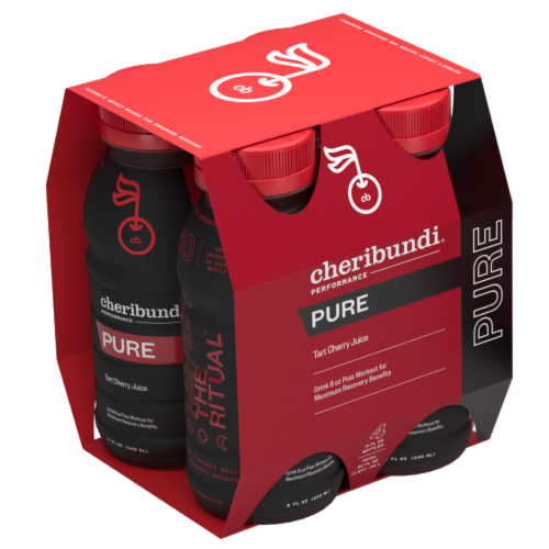 Cheribundi Pure Tart Cherry Juice Perspective: front