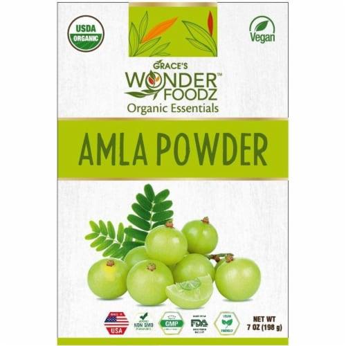 Grace's Wonder Foodz, Amla Powder Perspective: front