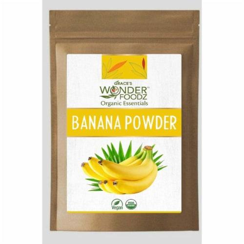 Grace's Wonder Foodz, Banana Powder Perspective: front