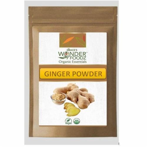 Grace's Wonder Foodz, Ginger Powder Perspective: front
