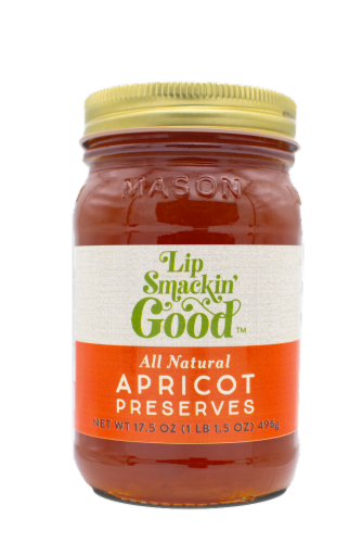 Apricot Preserves Perspective: front