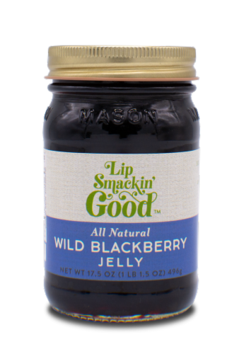 Wild Blackberry Jelly Perspective: front
