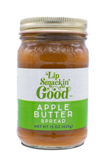 REDUCED SUGAR Apple Butter Spread Perspective: front