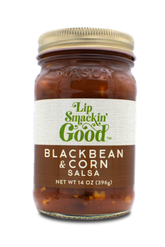 Black Bean & Corn Salsa Perspective: front