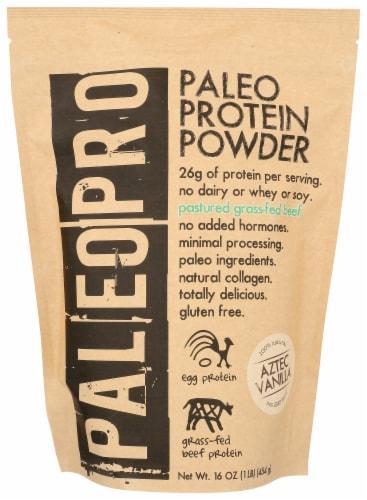 Paleo Pro Aztec Vanilla Protein Powder Perspective: front