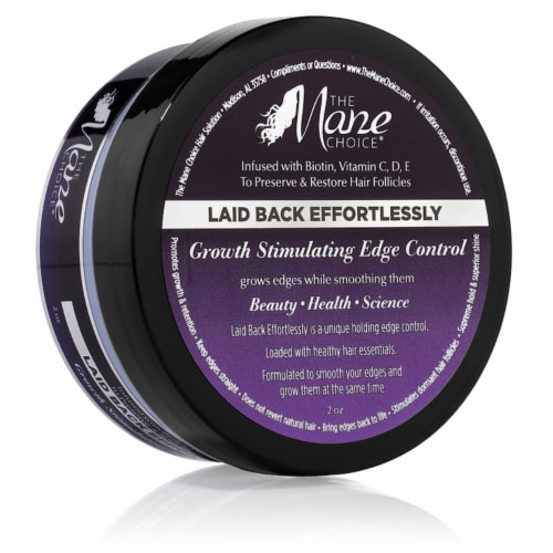 The Mane Choice Laid Back Effortlessly Growth Stimulating Edge Control Perspective: front