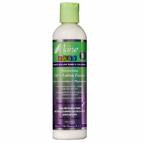 Mane Choice Baby Oil and Lotion Fusion Perspective: front