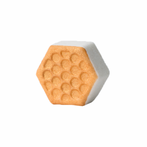 Pacha Soap Co. Sweet Honey Almond Classic Froth Bath Bomb Perspective: front