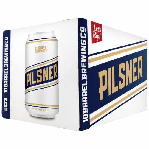 10 Barrel Brewing Pilsner Perspective: front
