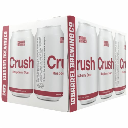10 Barrel Brewing Crush Raspberry Sour Perspective: front