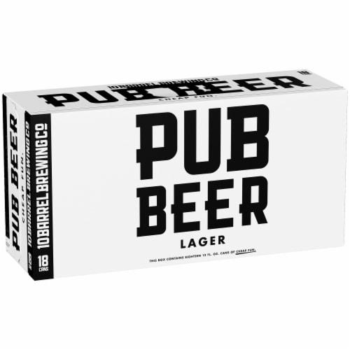 10 Barrel Brewing Pub Beer Lager Perspective: front